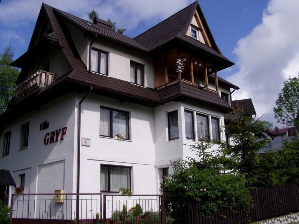 villa gryf noclegi