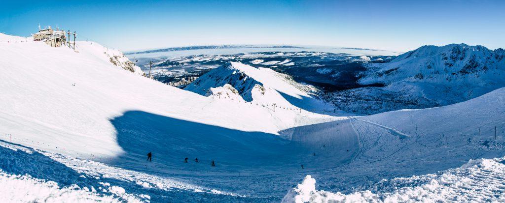 Kasprowy Wierch. Ostatnie miejsce, gdzie można jeździć na naturalnym śniegu.